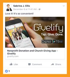 Nonprofit Donation and Church Giving App - Givelify Filling Out An Envelope, Me App, App Store Google Play, Education Center, My Church, Atlantic City, I Care, Non Profit, Giving