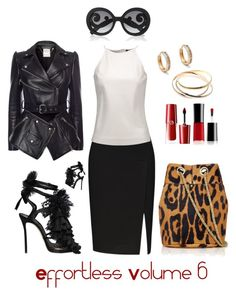 """""""Effortless Volume 6"""" by michele-nyc ❤ liked on Polyvore featuring Raoul, Dsquared2, Giorgio Armani, Cartier, Alexander McQueen, Jérôme Dreyfuss, Anna Sheffield and Prada"""