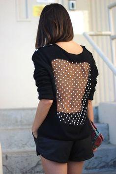 Vintage Azzaro see-through sweater