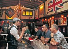 The Pikey in Hollywood isn't a gastropub. It's a pub, just with better food. (Katie Falkenberg / For the Los Angeles Times / July 7, 2012)
