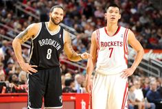 Brooklyn Nets v. Houston Rockets...and the Rockets with a WIN!!! Jeremy Lin Played Well Tonight!!