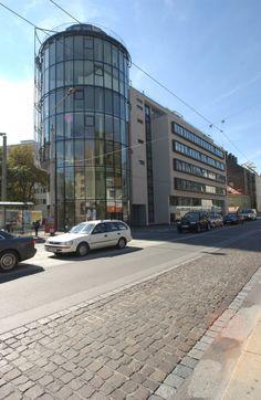 Geschäfts-/Büroturm + Wohnungseigentum Fürstenweg 8; Architekt Kritzinger #architecture #glass #tower Car, Automobile, Autos, Cars