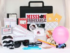 Shhhh! Want to be a Spy? Now you can with Mission Unboxable! Kid's Spy Kit Monthly Subscription #Giveaway #Review