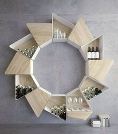Amazing and Unique Wood Shelving Design Ideas For Your Home - Books - Shelves Entryway Furniture, Modular Furniture, Furniture Plans, Cool Furniture, Furniture Design, Inexpensive Furniture, Luxury Furniture, Shelving Design, Shelf Design