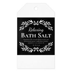 Black Vintage Relaxing DIY Bath Salt Labels | Zazzle.com Black Chalkboard, Diy Chalkboard, Diy Bath Salt Labels, Homemade Scrub, Relaxing Bath, Jar Labels, Vintage Labels, Bath Salts, Custom Stickers