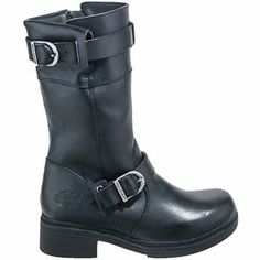 Harley Davidson Boots: Women's Felicity Buckle Motorcycle Boots 83529