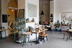 Hallesches Haus || Café + Cactus + Stationery || Tempelhofer-Ufer 1 10961 Berlin Kreuzberg