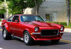 Chevy Vega - never thought of one as a muscle car but this one sure is!