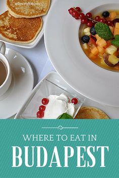 Where to eat in Budapest