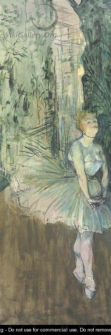 Danseuse - Henri De Toulouse-Lautrec
