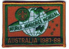 """16th World Scout Jamboree – 1987-1988 Australia """"Bringing the World Together"""" 14,434 participants from 84 countries"""