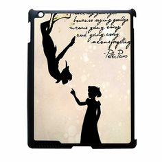 Peter Pan Quote Vintage 2 iPad 2 Case