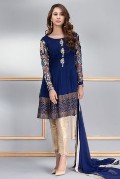 9 Ravishing and Vibrant Pakistani Formal Dresses by Phatyma Khan Online The Phatyma Khan Formal Dresses are best known for their exclusive style, creative fabric techniques, fascinating colors and prestigious look. Pakistani Formal Dresses, Pakistani Party Wear, Pakistani Fashion Casual, Pakistani Dress Design, Pakistani Outfits, Indian Dresses, Indian Outfits, Indian Fashion, Pakistani Dresses Online Shopping