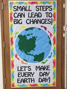 Earth Day 2018 More from my siteEarth Day BackgroundEarth Day DecorationsEarth Day Hand Print CraftEarth Day DecorationsEco-Friendly Earth Day Party Decorations – Ice Cream Off Paper PlatesEarth Day – Writing Template Preschool Classroom Decor, Classroom Board, Classroom Themes, Earth Day Slogans, Watermelon Crafts, Earth Craft, Eco Kids, Teacher Doors, School Doors