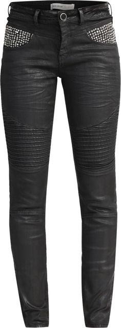 MOS MOSH Biker Jeans 'Ozzy' in schwarz bei ABOUT YOU bestellen. ✓Versandkostenfrei ✓Zahlung auf Rechnung ✓kostenlose Retoure