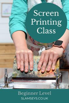 Grab an apron, spread some ink and start pulling screen prints. Join our easy going beginner class to learn how to make simple screen prints. Make friends, enjoy the lovely surroundings and have fun printing. Screen Printing Frame, Cricut Help, Wood Boards, Boutique Ideas, Screenprinting, Business Help, Shirt Ideas, Printmaking, Stained Glass