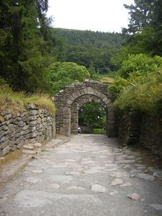 Glendalough..honeymoon 1997
