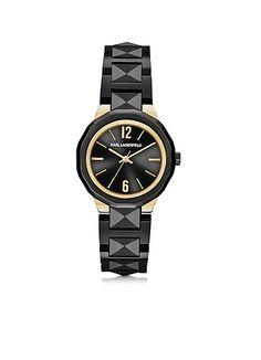 Karl+Lagerfeld+Joleigh+-+Черные+Культовые+Женские+Часы