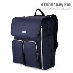 4110107-Insular Mummy Bag Backpack-Blue