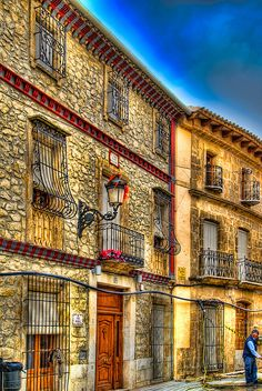 Houses in Teulada, Costa blanca by Anguskirk, via Flickr -- Spain