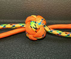 How To Tie A Lanyard Knot Doubled