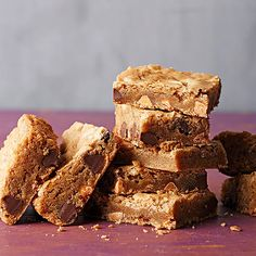 This easy blondie brownie recipe makes a great after-dinner dessert or sweet afternoon snack. The chewy treat includes butterscotch or semisweet chocolate pieces -- you choose! Our gluten-free flour recipe makes this a great recipe for those who are gluten intolerant or celiac.
