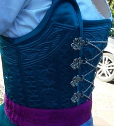 Sewing Clothes, Corsets, Sewing Ideas, Ethnic, Lingerie, Goals, Costumes, Detail, Clothing