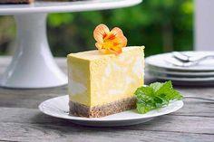 Mango and turmeric cheesecake – Recipes – Bite