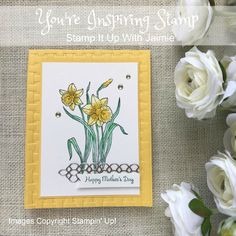 Stampin' Up! You're Inspiring – Stamp It Up with Jaimie