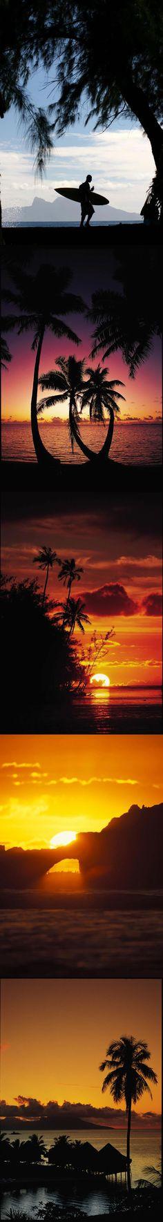 TAHITI SUNSETS  © TAHITI TOURISME