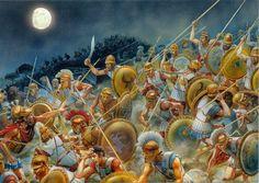 415 a 413 a.C - Campaña de Siracusa - Guerra del Peloponeso 431 a 404 a.C -Atenas contra Esparta
