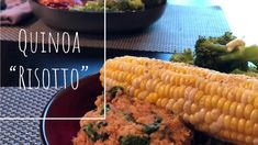 We love quinoa risotto and it can be adapted for many variations! Gay Guys, Weight Watchers Diet, Marinara Sauce, Sauce Recipes, Chana Masala, Quinoa, Risotto, Warriors, Spinach