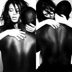 <3 Kanye West And Kim, Interracial Couples, Jenners, Beauty And The Beast, Kim Kardashian, Kylie, Famous People, Photo Ideas, Hate
