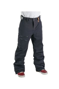 This tailored fit pant optimizes movement for total rock start status. It fits great and looks cool. To step things up even more Holden included targeted insulation for warmth. What else could you need in your pants? Oh yeah, some sick leather detailing.