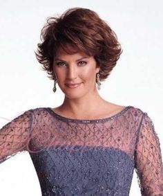 Mother of the bride hairstyles for short hair photo - 12