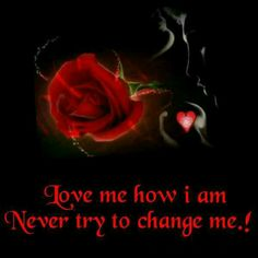 Love me how I am