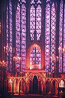 Sainte-Chapelle -- This building literally took my breath away when I entered.