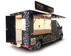 Food Truck Opel Movano TPOH allestito per I Piadinari Starting A Food Truck, Food Truck For Sale, Trucks For Sale, Food Trucks, Food Cart Design, Food Truck Design, Food Truck Interior, Italian Street Food, Mobile Cafe