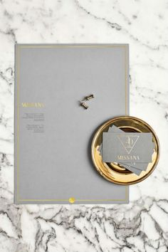 Gold dusted brand id