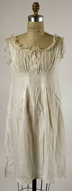 Chemise. Again; I'd remake it and wear the hell out of it as a dress!