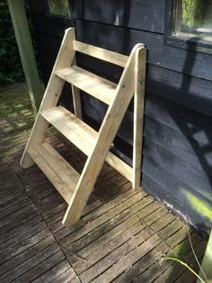 3 tier plant stand by Bentleybespoke on Etsy