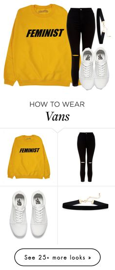 """Untitled #1298"" by jasloves5sos on Polyvore featuring New Look and Vans"
