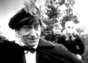 Second Scottish Look Though outwardly warm, bumbling, and somewhat clownish, the Second Doctor had a darker, more cunning aspect to his personality — one which he usually kept hidden in order to carry out his plans.