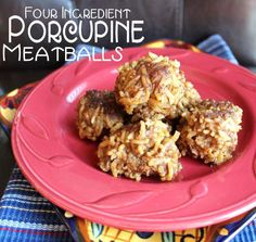 This easy potluck recipe for Four Ingredient Porcupine Meatballs from Jamie Cooks It Up! is ready for you to bring along to your next social event. Serve alongside a spaghetti dinner or put out a few toothpicks for some mingling munchies.