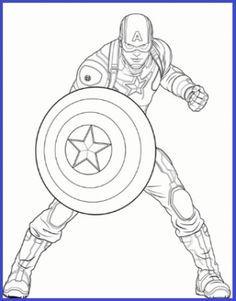 Dibujos Para Colorear De Capitan America Capitao America Para