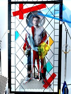 Charlie Hunnam photographed by Tim Walker for VMAN magazine