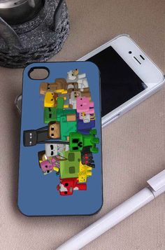 Minecraft Characters   Online Games   iPhone 4 4S 5 5S 5C 6 6+ Case   Samsung Galaxy S3 S4 S5 Cover   HTC Cases