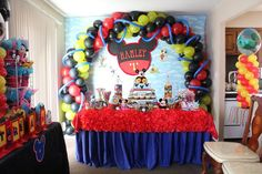 Balloons Arch - Mickey Inspired :-)