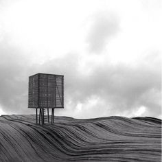 A study by molo's Forsythe + MacAllen for an observation tower