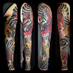 Phenomenal Japanese Sleeve Tattoo Males